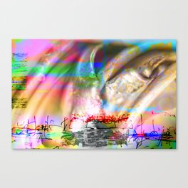 Foreplay Famine: The Musical Canvas Print