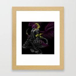 Beelzemon Framed Art Print