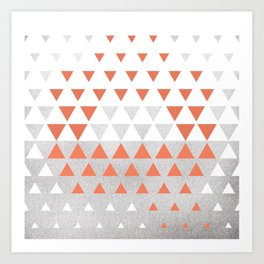 100 Days of Hybrid Type: Q Art Print