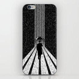 Winter's Long Road iPhone Skin