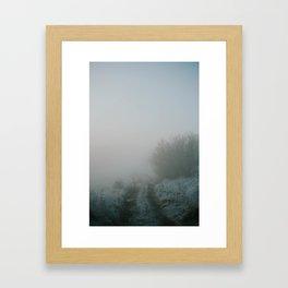Mysterious Roads Framed Art Print