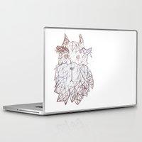 schnauzer Laptop & iPad Skins featuring schnauzer  by monicamarcov