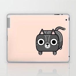 Cat Loaf - Grey Tabby Kitty Laptop & iPad Skin