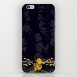 SHOCK VISOR iPhone Skin
