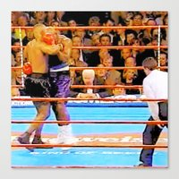 mike tyson Canvas Prints featuring Mike Tyson 55 by thetruthyoualwaysknew