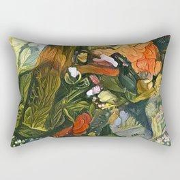 Garden Alley Rectangular Pillow