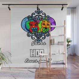 Love Owls Wall Mural