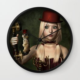 Surprise Call Wall Clock