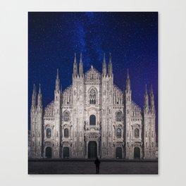 Under the starlit sky Canvas Print