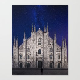 Under the starlit sky Canvas Print