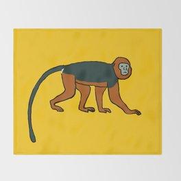 The Intelligent Monkey Throw Blanket