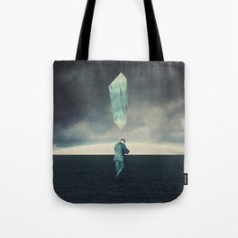 Living two whole lives with Burden Tote Bag