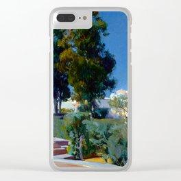 Joaquin Sorolla y Bastida Corner of the Garden, Alcazar, Sevilla Clear iPhone Case