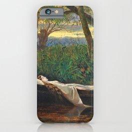 The Lady Of Shalott - Walter Crane iPhone Case