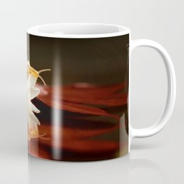 Baby Snail on a flower in the water  Coffee Mug