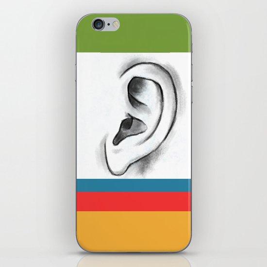 I am listening  iPhone & iPod Skin