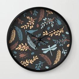 Nature way Wall Clock