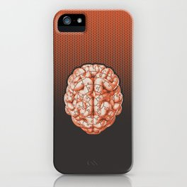 Puzzle brain GINGER / Your brain on puzzles iPhone Case