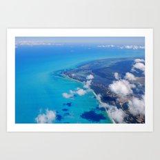 Coast of Mexico Art Print
