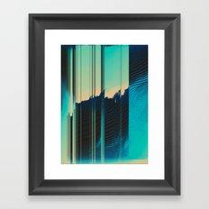 Ripped Apart Framed Art Print