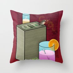 Fun and Cool and Interesting and Friendly Throw Pillow