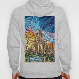Asgard stained glass style Hoody