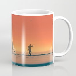 Stand up Paddle Summer Sunset Vibes Coffee Mug