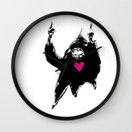 The Birds, Love Passion Equality Wall Clock