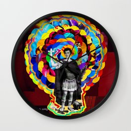 Santo Expedito (Saint Expeditus) Wall Clock