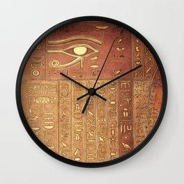 Ancient Script Wall Clock