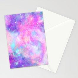 Unicorn Galaxy Stationery Cards