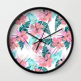 LaniKai {E} Wall Clock