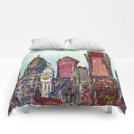 Philadelphia Skyline Comforters