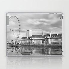 London Eye and River Thames Laptop & iPad Skin