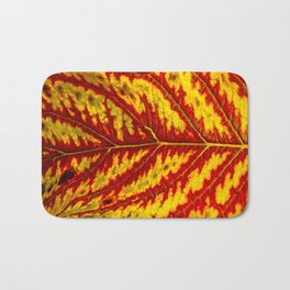 Tiger Leaf Bath Mat
