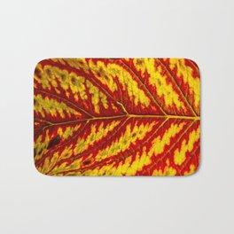 Tiger Leaf Bath Mat