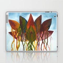 Dripping Lotus Flower Laptop & iPad Skin