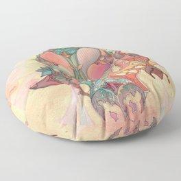 The Fountain of Originality Floor Pillow