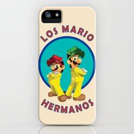 Los Mario Hermanos iPhone Case