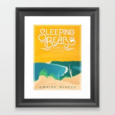 Sleeping Bear Framed Art Print