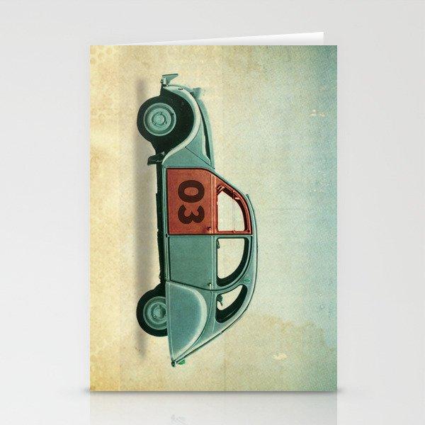 Number 03 _ Citron 2CV Stationery Cards
