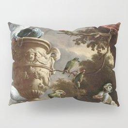 The Menagerie Melchior d'Hondecoeter 1690 Pillow Sham