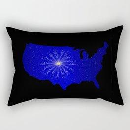 United States Celebration Rectangular Pillow
