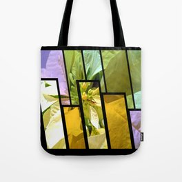 Pale Yellow Poinsettia 1 Tinted 1 Tote Bag