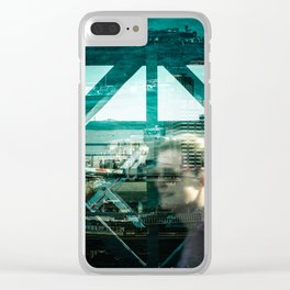 Layers of London 3 Clear iPhone Case