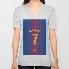 Philippe Coutinho 7 - Barcelona Unisex V-Neck