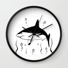 SHARKFISHING Wall Clock