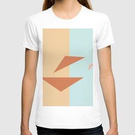 Croissant sandwich T-shirt