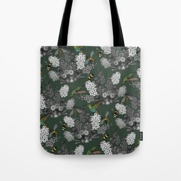 Hummingbirds and Bees (don't let them fade away) Tote Bag