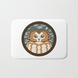 Northern Saw-whet Owl Bath Mat